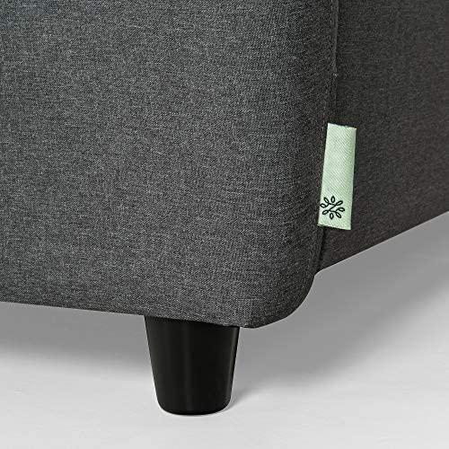 51Ex+xsGVjL. AC  - Zinus Ricardo, Sofa, Dark Grey