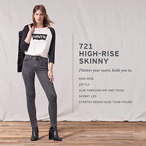 51MJU7RzotL. AC  - Levi's Women's 721 High Rise Skinny Jeans