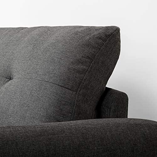 51lpdgAp2YL. AC  - Zinus Ricardo, Sofa, Dark Grey