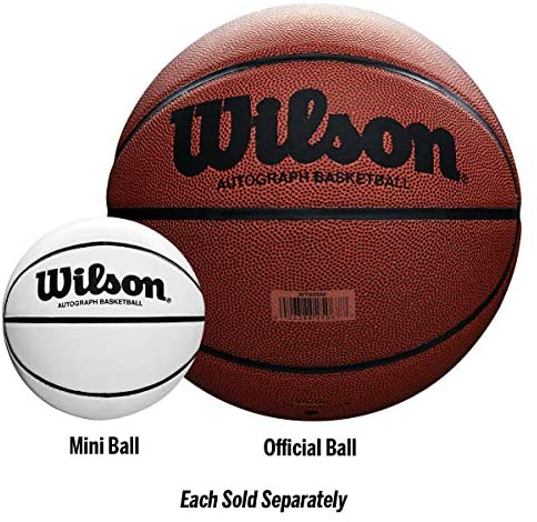 51lr9PqmaeL. AC  - Wilson Autograph Basketball Series