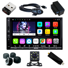 73bae4fa 2096 435b a039 0a01ce76e7e7. CR0,0,220,220 PT0 SX220   - ATOTO A6 Double Din Android Car Navigation Stereo with Dual Bluetooth - Standard A6Y2710SB 1G/16G Car Entertainment Multimedia Radio,WiFi/BT Tethering Internet,Support 256G SD &More