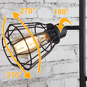 7886f03c 9ffa 49ad 95cb 247971eb0223.  CR0,0,300,300 PT0 SX300 V1    - Industrial Floor Lamp, Anbomo 3 Head Torchiere Lamp Fixture for Living Room, Rustic Floor Lamp with 3 Vintage Edison Light Bulbs