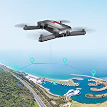 8f131e6a 41ab 4927 ad10 ad9c8148359c.  CR0,0,900,900 PT0 SX220 V1    - Holy Stone HS160 Pro Foldable Drone with 1080p HD WiFi Camera for Adults and Kids, Wide Angle FPV Live Video, App Control, Gesture Selfie, Waypoints, Optical Flow, Altitude Hold and 2 Batteries