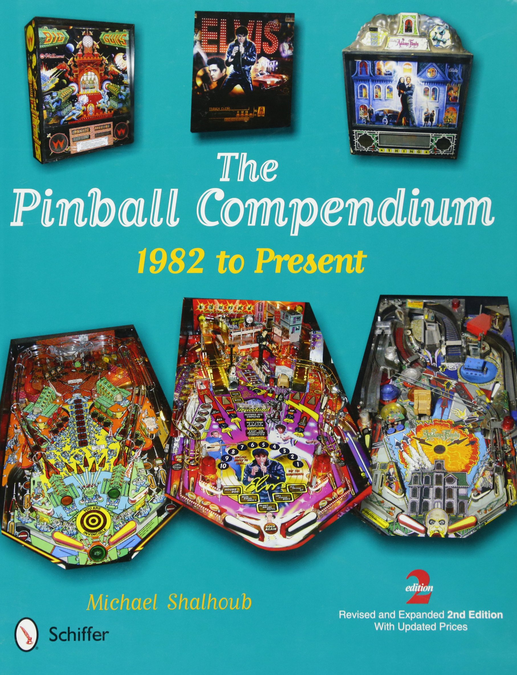 91UBe+ffBxL - The Pinball Compendium: 1982 to Present
