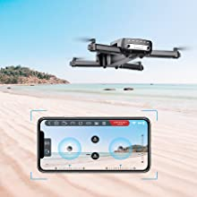 98c898a4 9a2d 42e9 b64c 175a7edfe8ad.  CR0,0,900,900 PT0 SX220 V1    - Holy Stone HS160 Pro Foldable Drone with 1080p HD WiFi Camera for Adults and Kids, Wide Angle FPV Live Video, App Control, Gesture Selfie, Waypoints, Optical Flow, Altitude Hold and 2 Batteries