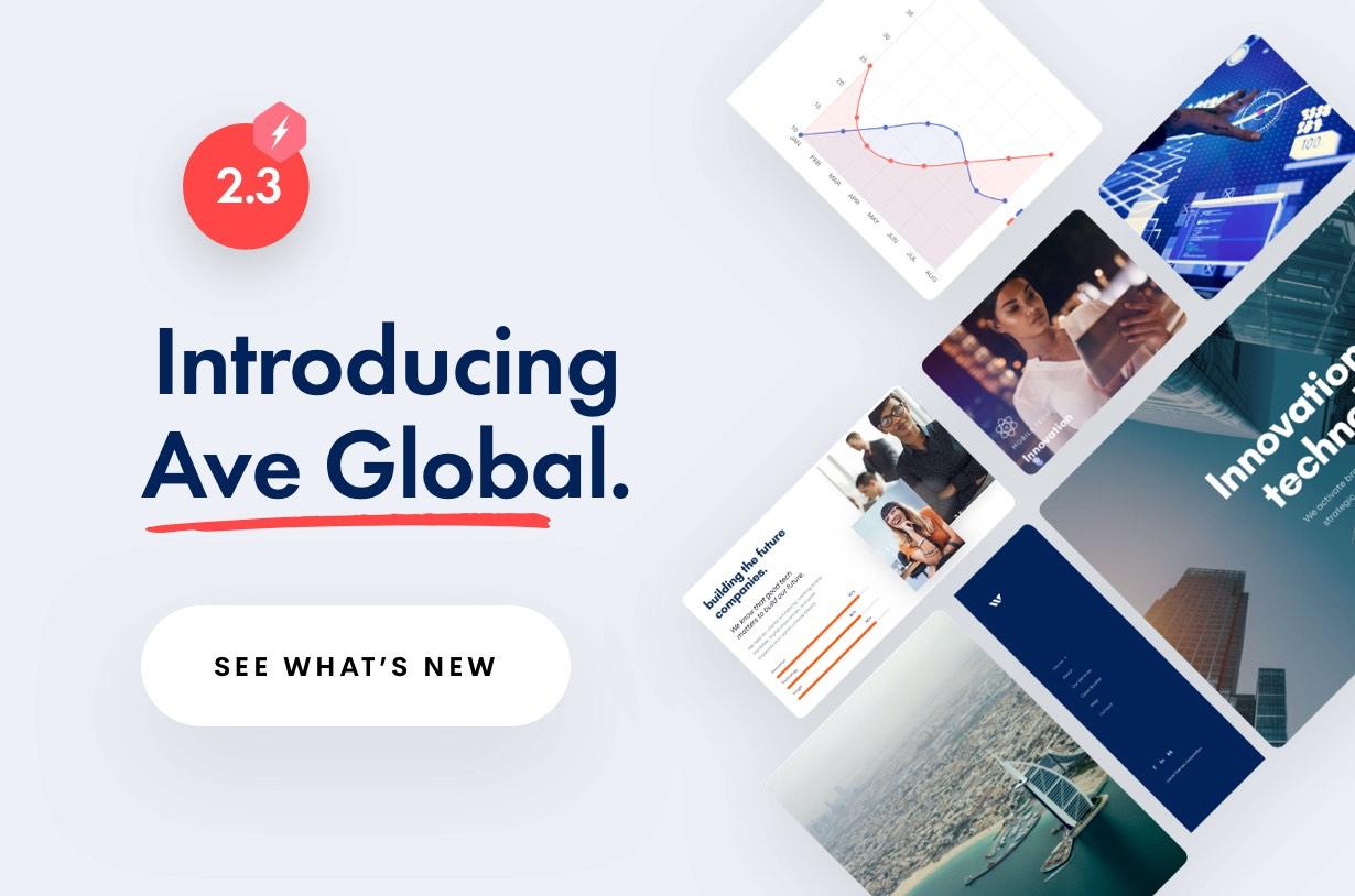 Ave Global - Ave - Responsive Multi-Purpose WordPress Theme