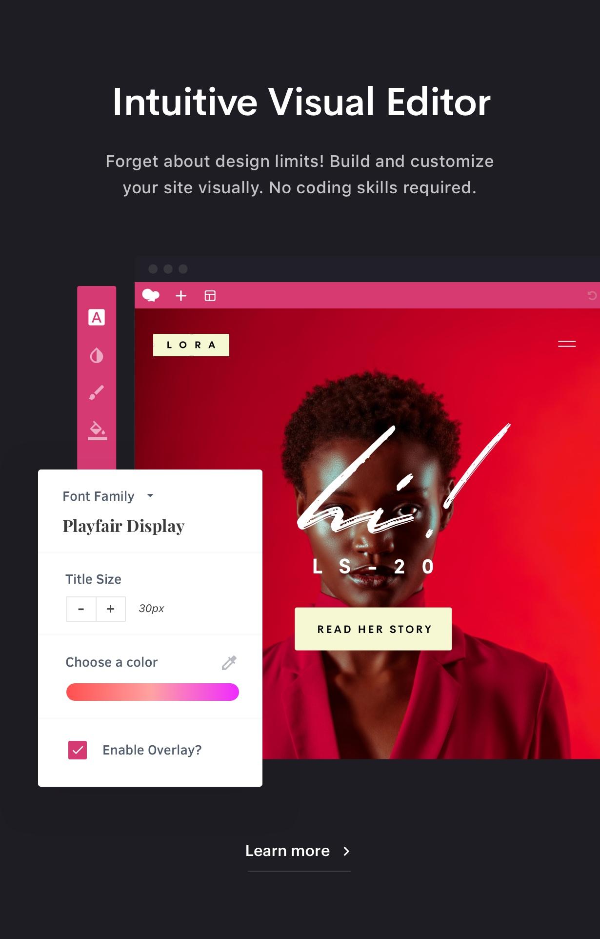 Customizer - Ave - Responsive Multi-Purpose WordPress Theme
