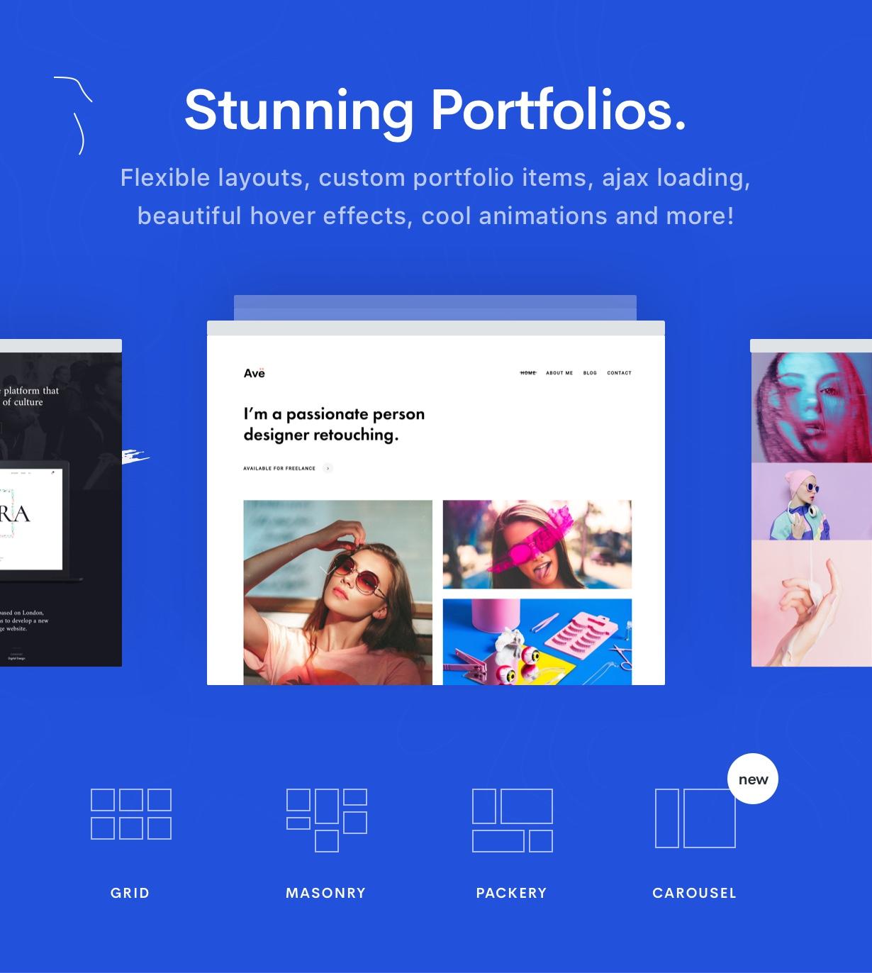 Portfolio 2 - Ave - Responsive Multi-Purpose WordPress Theme
