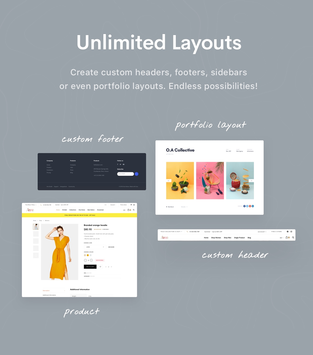 Unlimited - Ave - Responsive Multi-Purpose WordPress Theme
