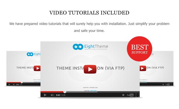 Videos - Legenda - Responsive Multi-Purpose WordPress Theme