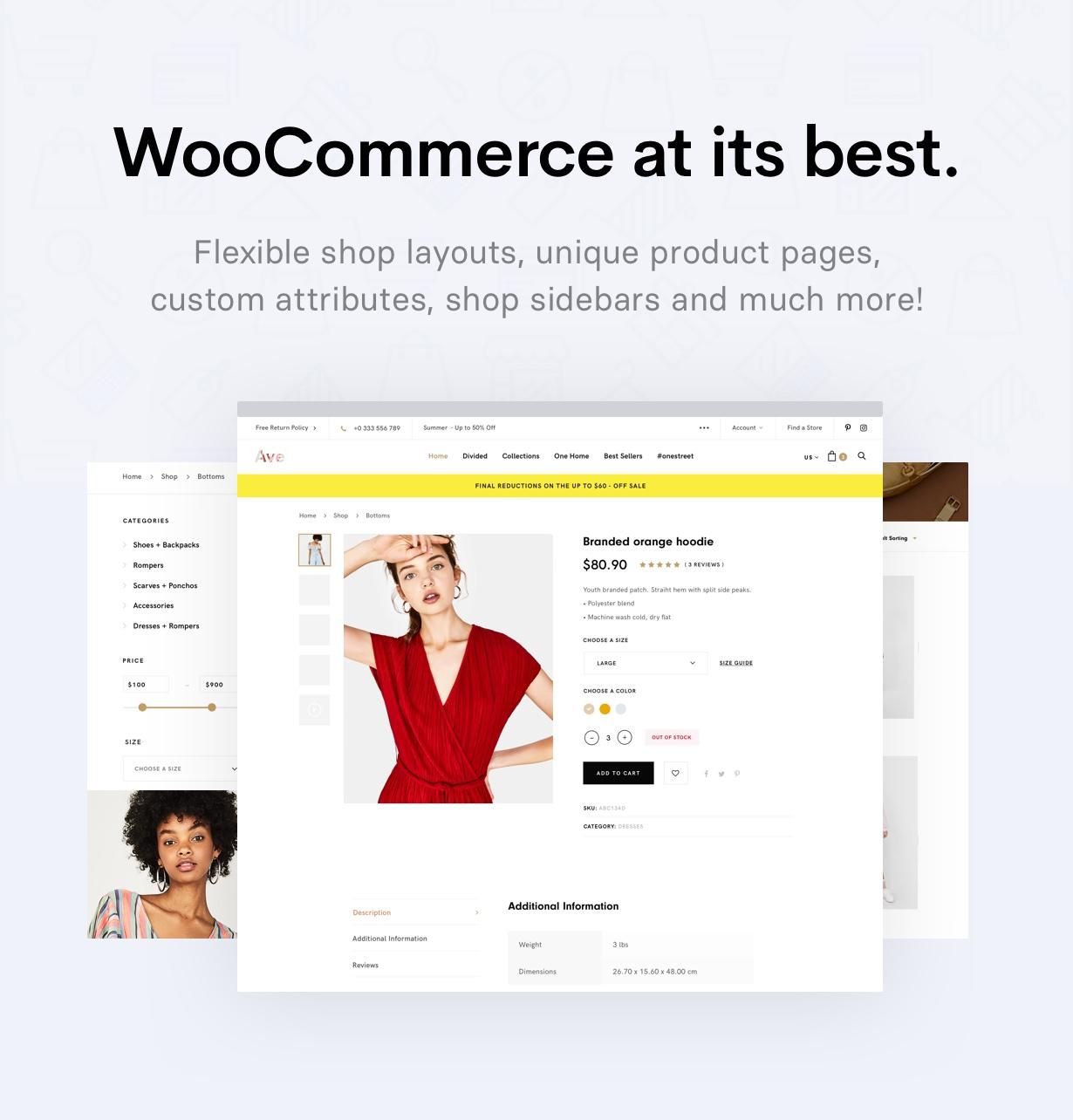 WooCommerce - Ave - Responsive Multi-Purpose WordPress Theme