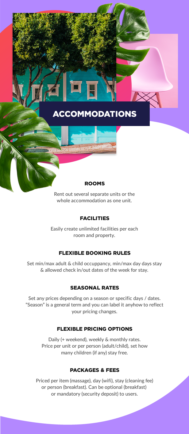 accommodation booking1 - Book Your Travel - Online Booking WordPress Theme