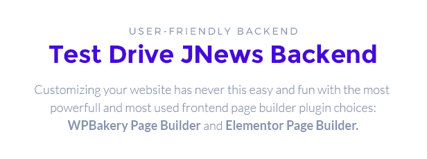 backend heading - JNews - WordPress Newspaper Magazine Blog AMP Theme