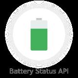 battery status api - Nectar - Mobile Web App Kit