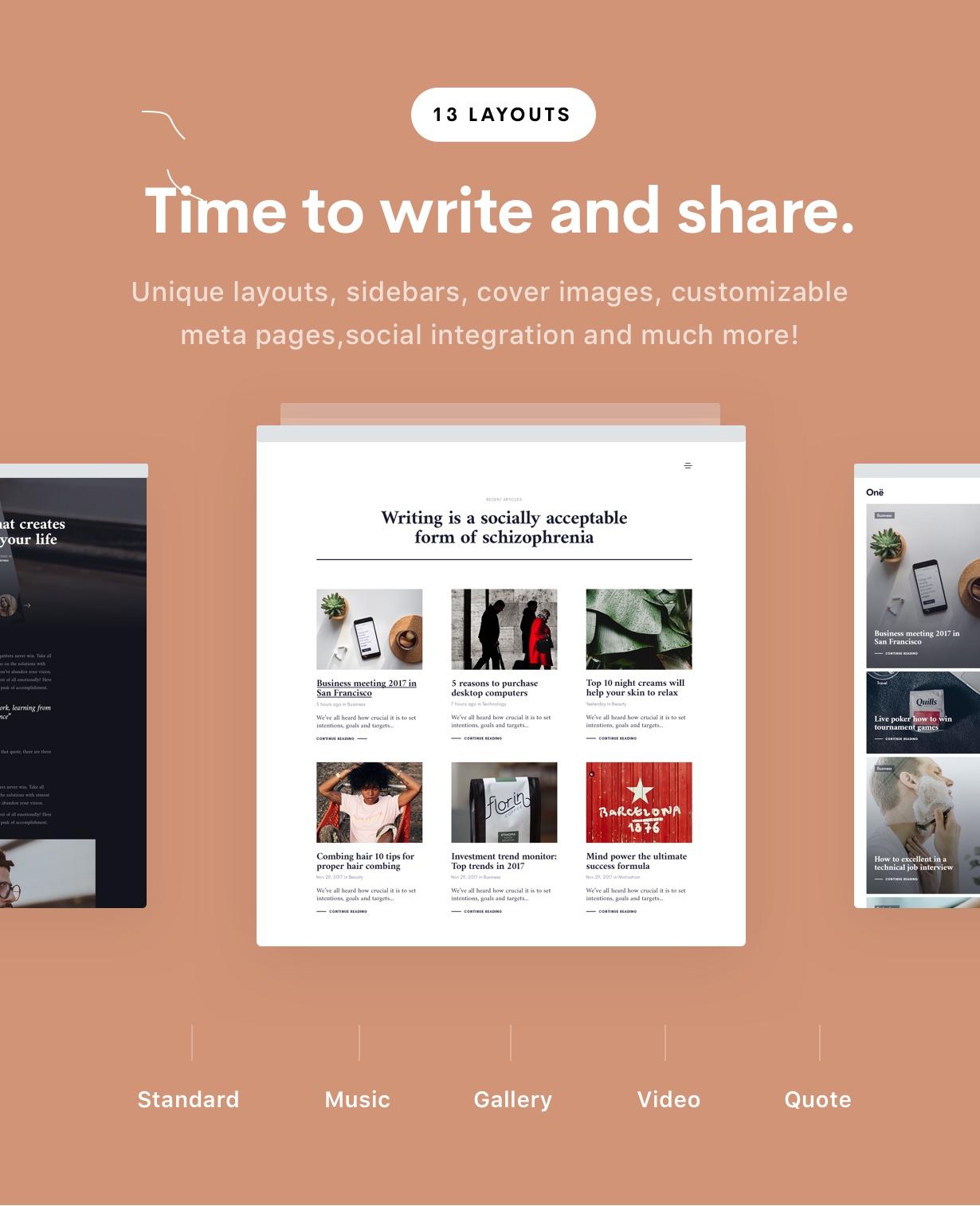 blog 1 - Ave - Responsive Multi-Purpose WordPress Theme