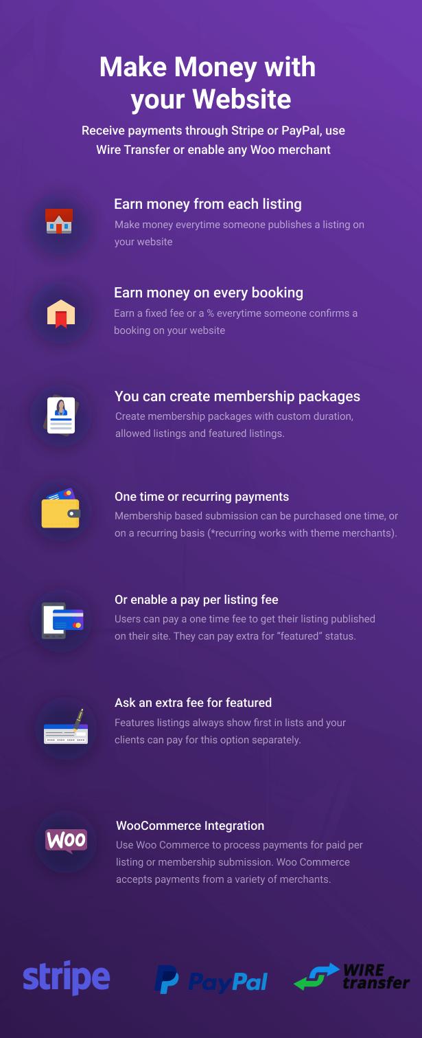 booking money 91 - WP Rentals - Booking Accommodation WordPress Theme