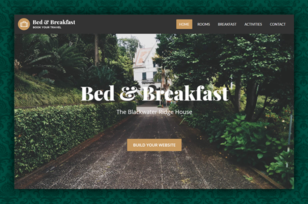 byt bedandbreakfast - Book Your Travel - Online Booking WordPress Theme