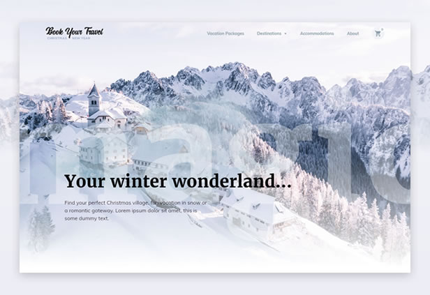byt christmas newyear - Book Your Travel - Online Booking WordPress Theme