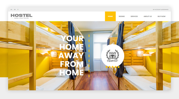 byt hostel - Book Your Travel - Online Booking WordPress Theme