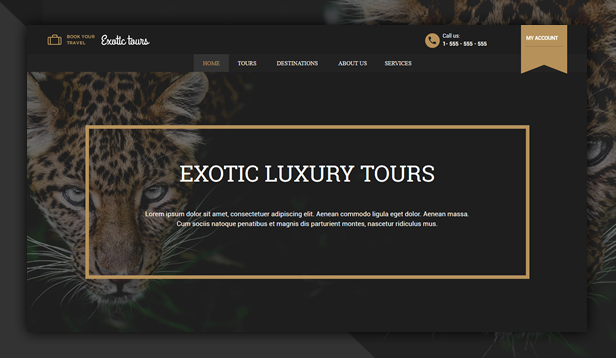 byt luxurytours - Book Your Travel - Online Booking WordPress Theme