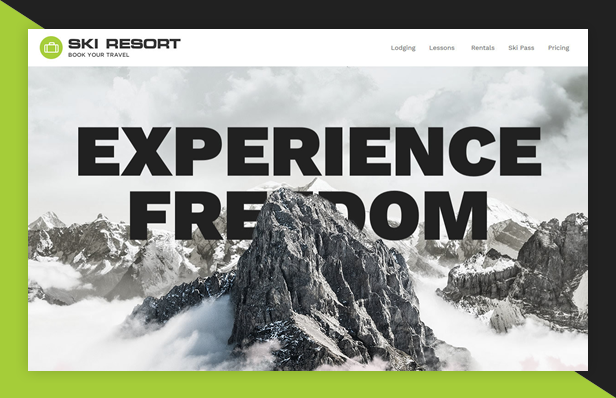 byt skiresort - Book Your Travel - Online Booking WordPress Theme