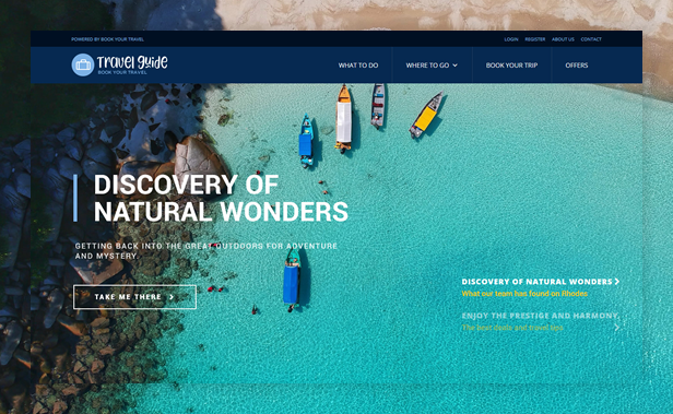byt travelguide - Book Your Travel - Online Booking WordPress Theme