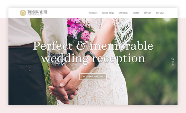 byt weddingvenue - Book Your Travel - Online Booking WordPress Theme
