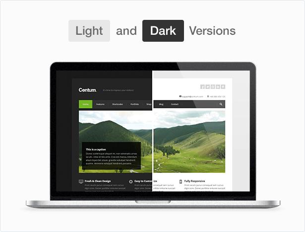 centum version - Centum - Responsive WordPress Theme