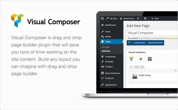 centum visual composer - Centum - Responsive WordPress Theme