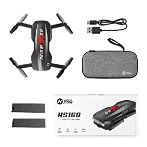 cf886190 be88 4e13 bf28 b1a0aa7713aa.  CR0,0,900,900 PT0 SX300 V1    - Holy Stone HS160 Pro Foldable Drone with 1080p HD WiFi Camera for Adults and Kids, Wide Angle FPV Live Video, App Control, Gesture Selfie, Waypoints, Optical Flow, Altitude Hold and 2 Batteries