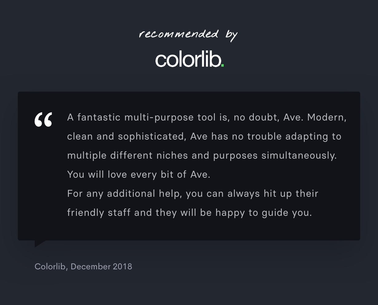 colorlib 2 - Ave - Responsive Multi-Purpose WordPress Theme