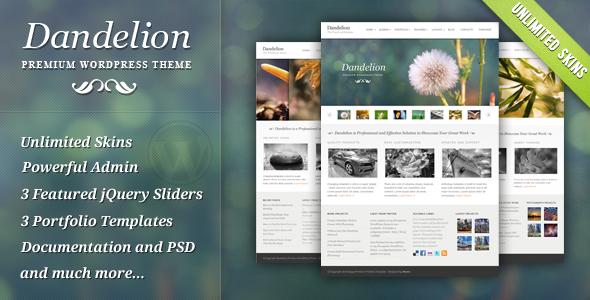 dandelion presentation - Photolux - Photography Portfolio WordPress Theme