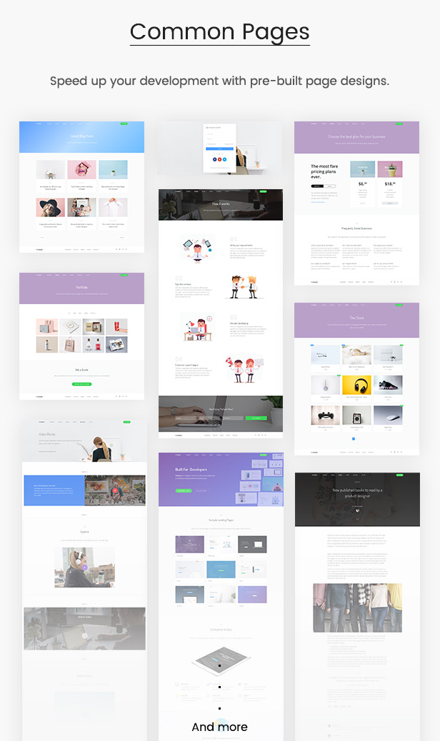 desc pages - TheSaaS - Responsive Bootstrap SaaS, Startup & WebApp Template