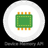 device memory api - Nectar - Mobile Web App Kit