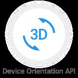 device orientation api - Nectar - Mobile Web App Kit
