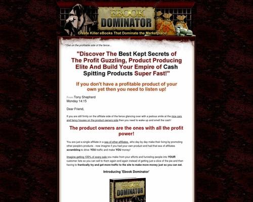 ebookdomin x400 thumb - Ebook Domination - Tony Shepherd