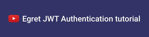 egret jwt authentication - Egret - Angular 10+ Material Design & HTML Admin Template
