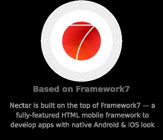 framework7 - Nectar - Mobile Web App Kit