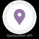geolocation api - Nectar - Mobile Web App Kit