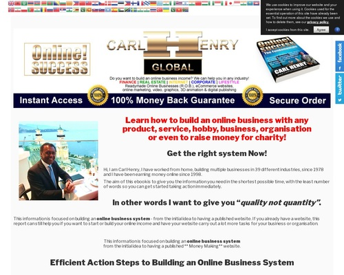 henrycarl x400 thumb - ONLINE! SUCCESS - An Online Business Building System