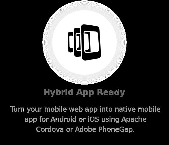 hybrid - Nectar - Mobile Web App Kit