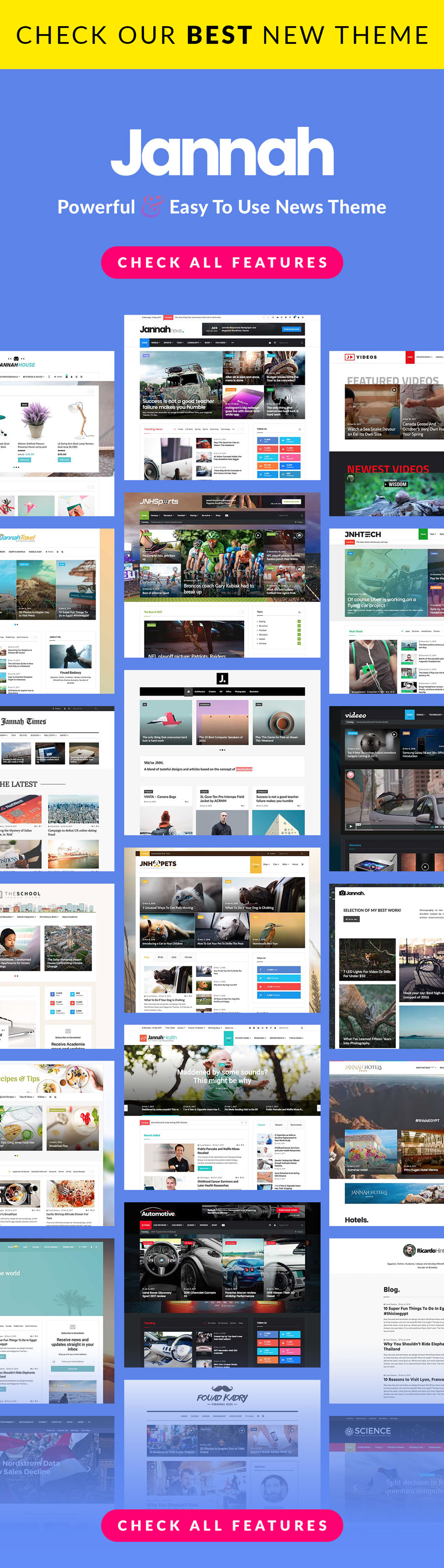 jannah ret themes - Jarida - Responsive WordPress News, Magazine, Blog