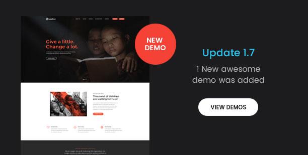 new demos 1 7 - LeadGen - Multipurpose Marketing Landing Page Pack with HTML Builder