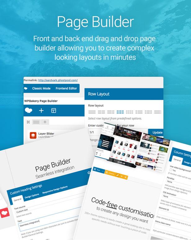 page builder - Aardvark - Community, Membership, BuddyPress Theme