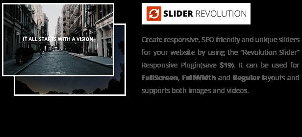 patti revolution slider - Patti - Parallax One Page WordPress Theme