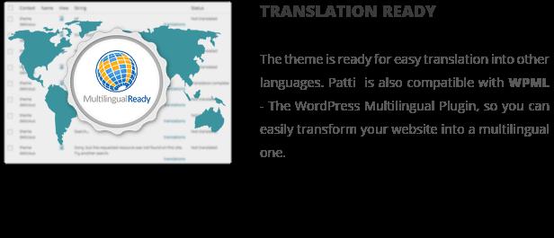 patti translation ready - Patti - Parallax One Page WordPress Theme