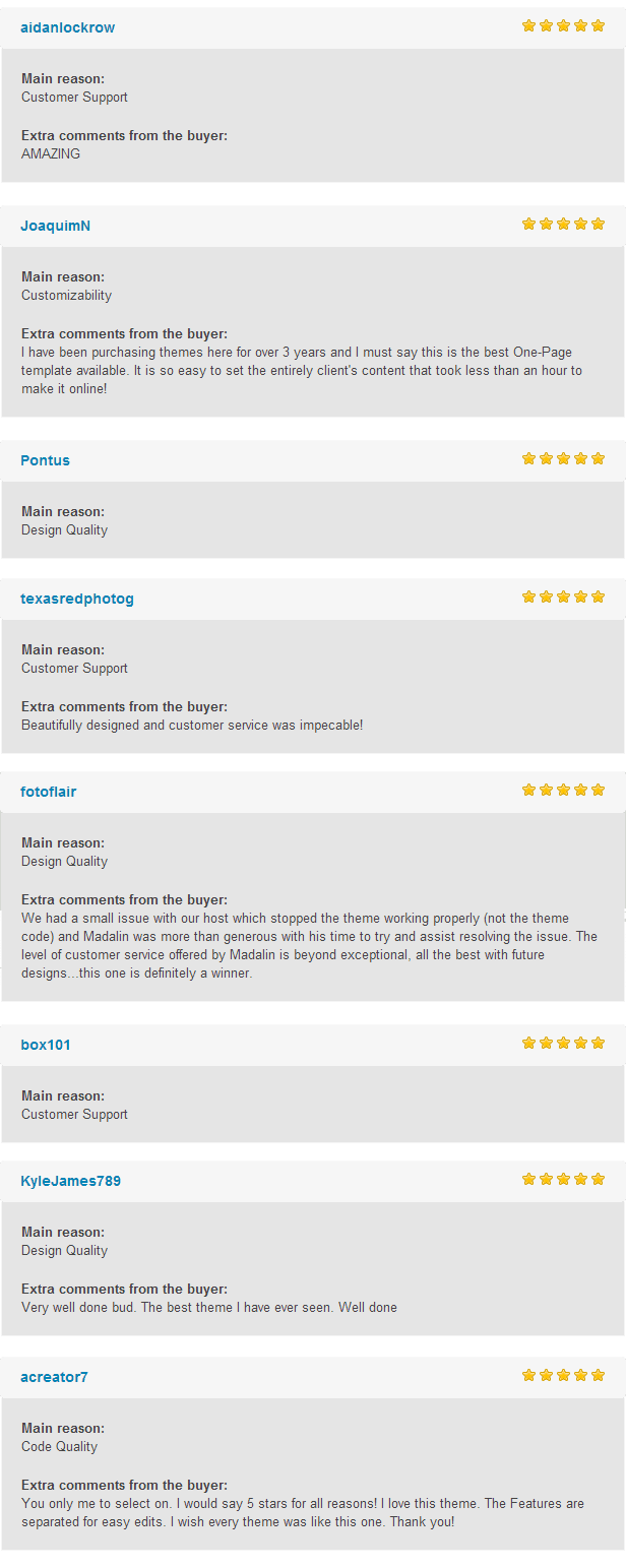 patti wp reviews - Patti - Parallax One Page WordPress Theme