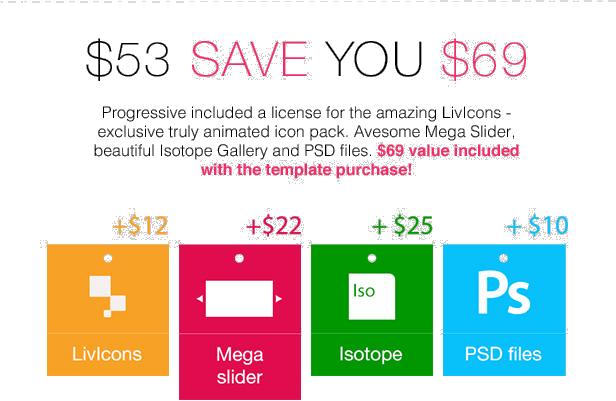 pd save - Progressive — Multipurpose Responsive Drupal 7 & 8 Theme