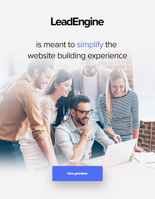 promo0 - LeadEngine - Multi-Purpose WordPress Theme with Page Builder