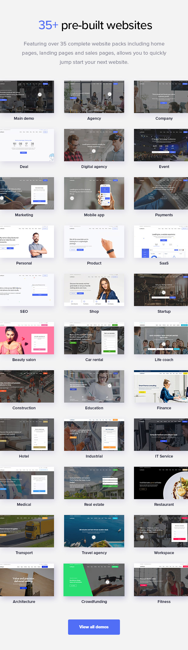promo2a - LeadEngine - Multi-Purpose WordPress Theme with Page Builder